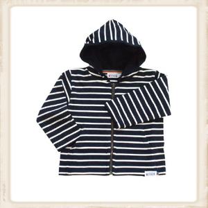 Bretons baby vest - navy naturel