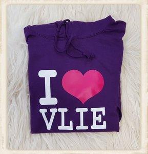 """Hoodie """"I Love Vlie"""""""