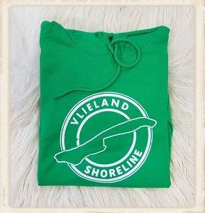 """Hoodie met """"Vlieland Shoreline"""""""