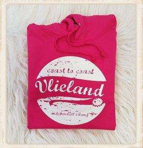 "Hoodie ""Coast to Coast Vlieland, independent island"""