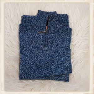 Forvi trui - Blauw melee - 027 304