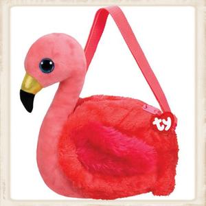 Ty Schoudertas Gilda flamingo