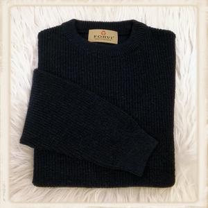 Forvi trui - Donkerblauw met ronde kraag - 947 05