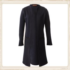 Vest Long Basic dark blue