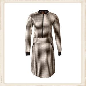 Black & White zipper dress